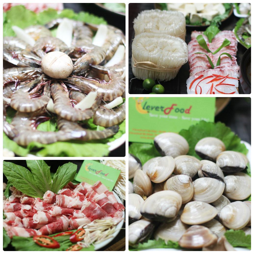 Set lẩu hải sản 5-6 người ăn