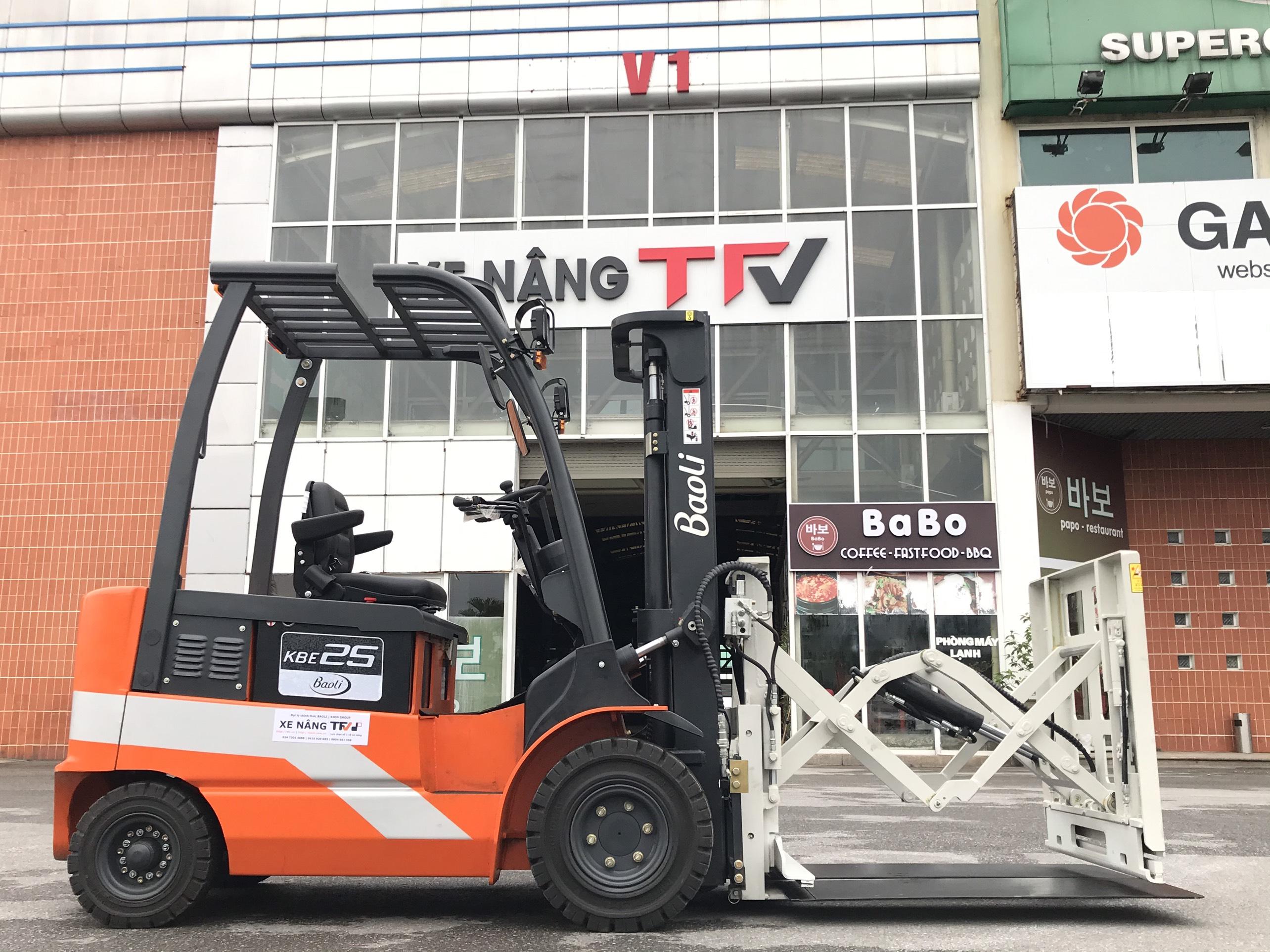 Xe nâng điện Kion Baoli KBE25