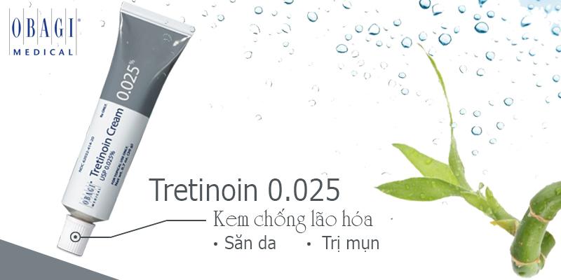 Kem Trị Mụn & Chống Lão Hóa Obagi Tretinoin Cream 0.025% 20Gr