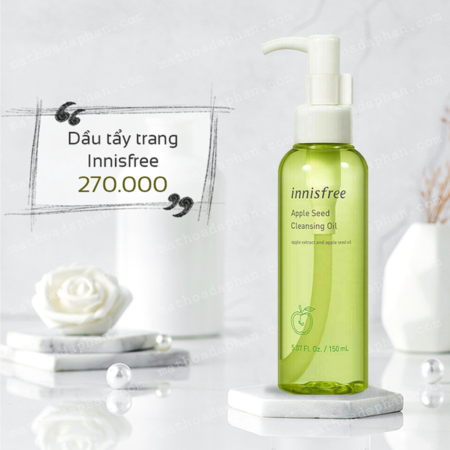 Tẩy Trang Innisfree Apple Seed Cleansing Oil 150ml