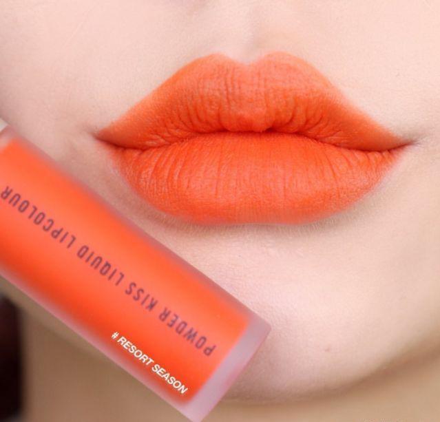 Son Kem Mac Powder Kiss Liquid Lipcolour Màu 992 Resort Season