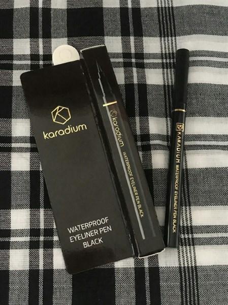 Kẻ Mắt Karadium Waterproof Eyeliner Pen Black