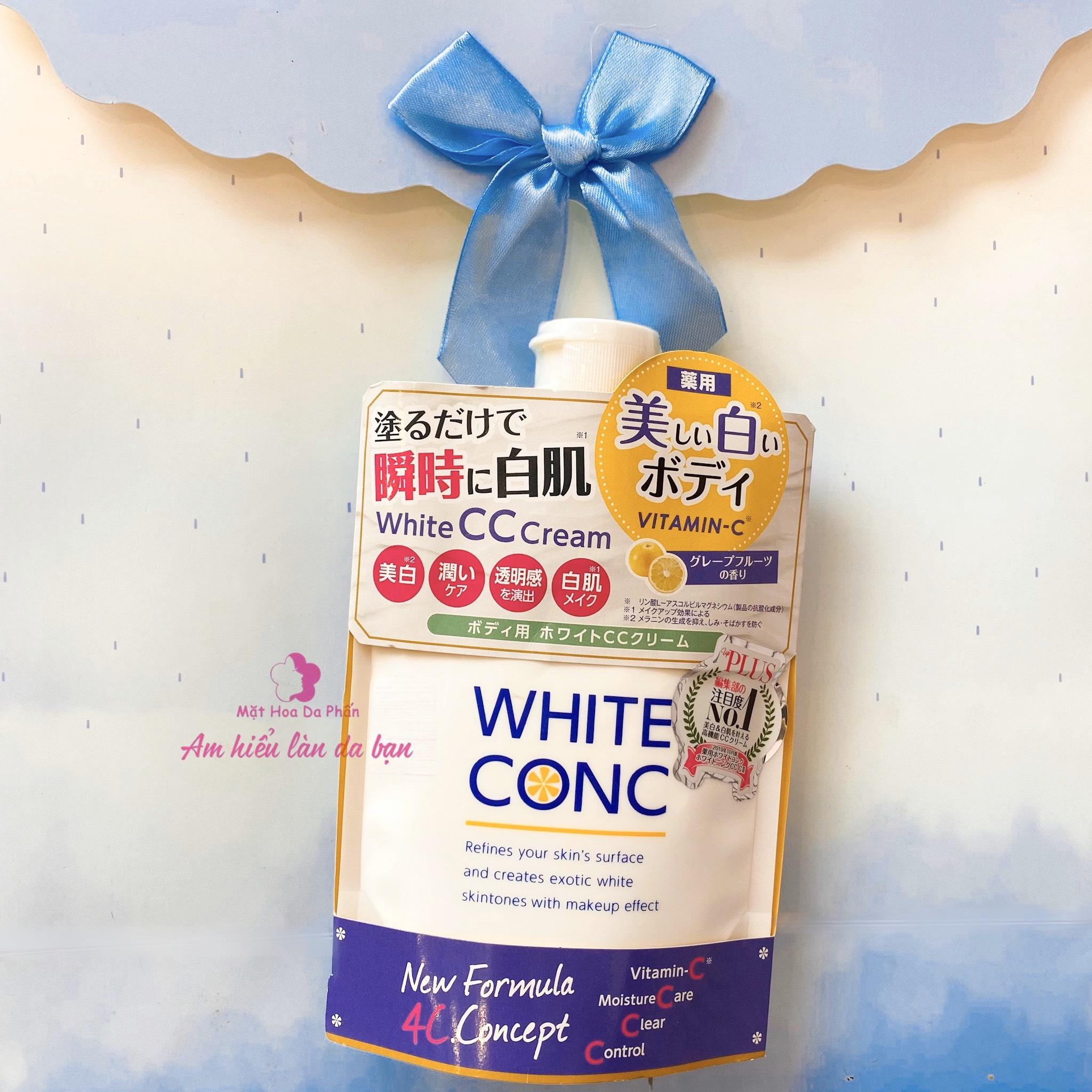 Kem Dưỡng Trắng Toàn Thân White Conc Body CC Cream