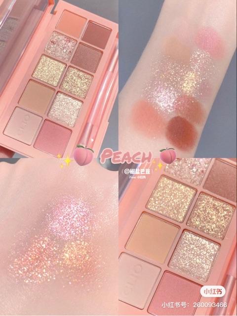 Màu Mắt Clio Pro Eye Palette #07 Peach Groove