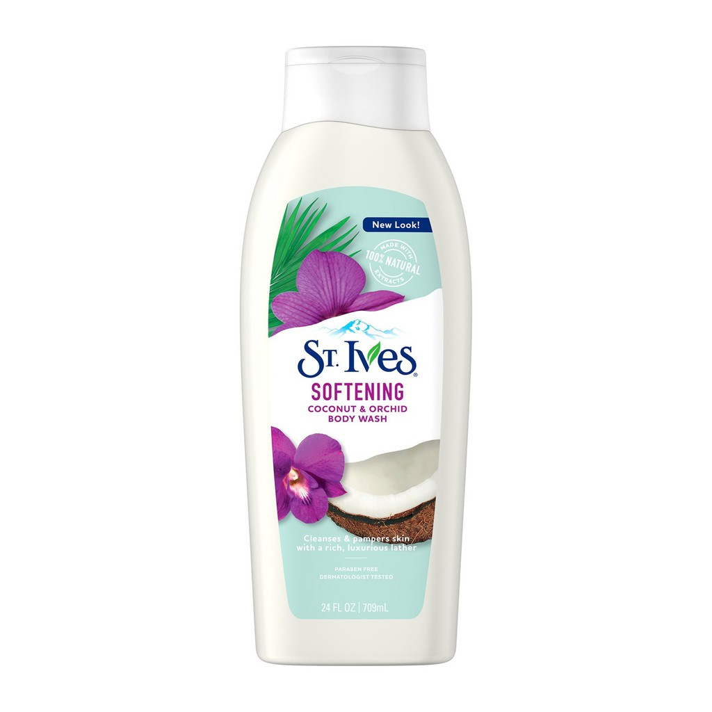 Sữa Tắm St.Ives Coconut & Orchid 400Ml