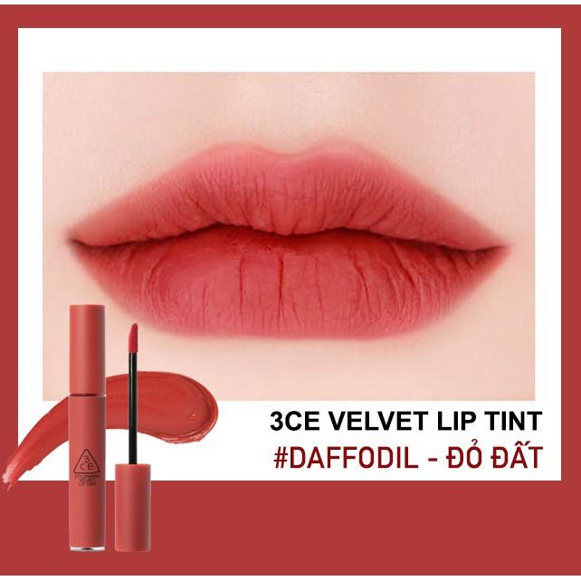 Son 3CE Velvet Lip Tint #Daffodil