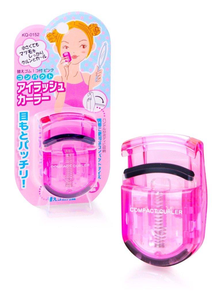 Bấm Mi Nhựa KAI Eyelash Curler KQ-3011 Màu Hồng