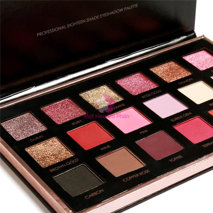 Bảng Màu Mắt Focallure Your Favors Eighteen Eyeshadow Palette FA-40 #01 Bright Lux