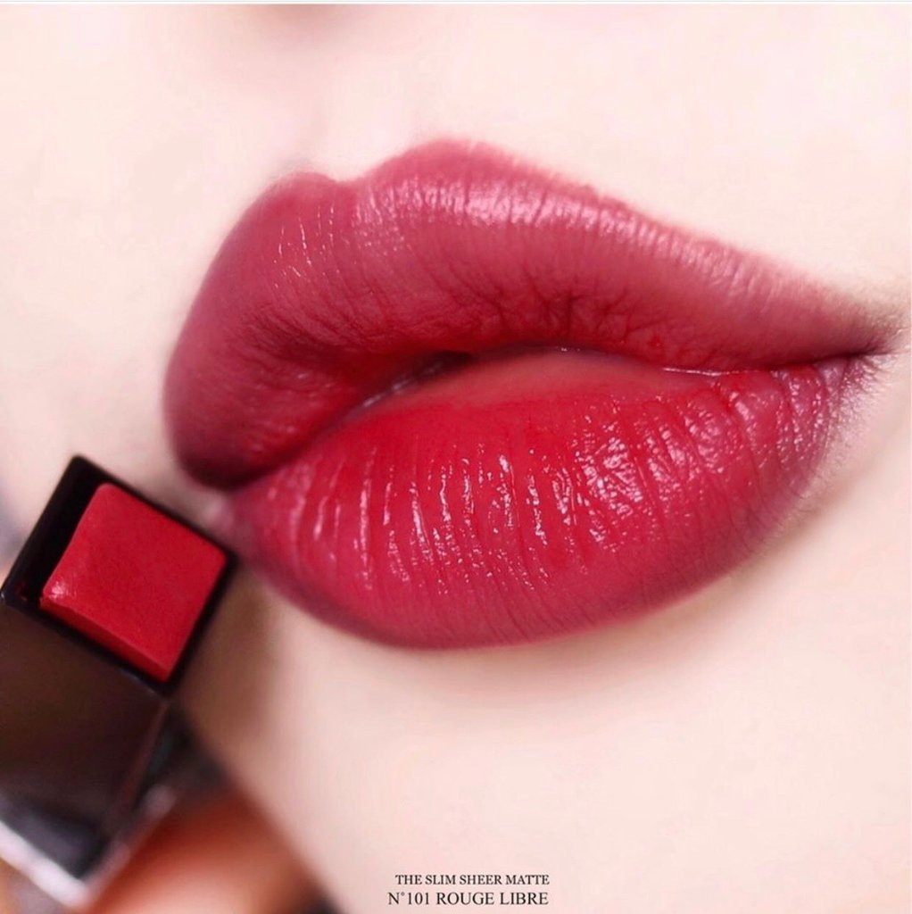 Son Yves Saint Laurent Rouge Pur Couture The Slim # 101