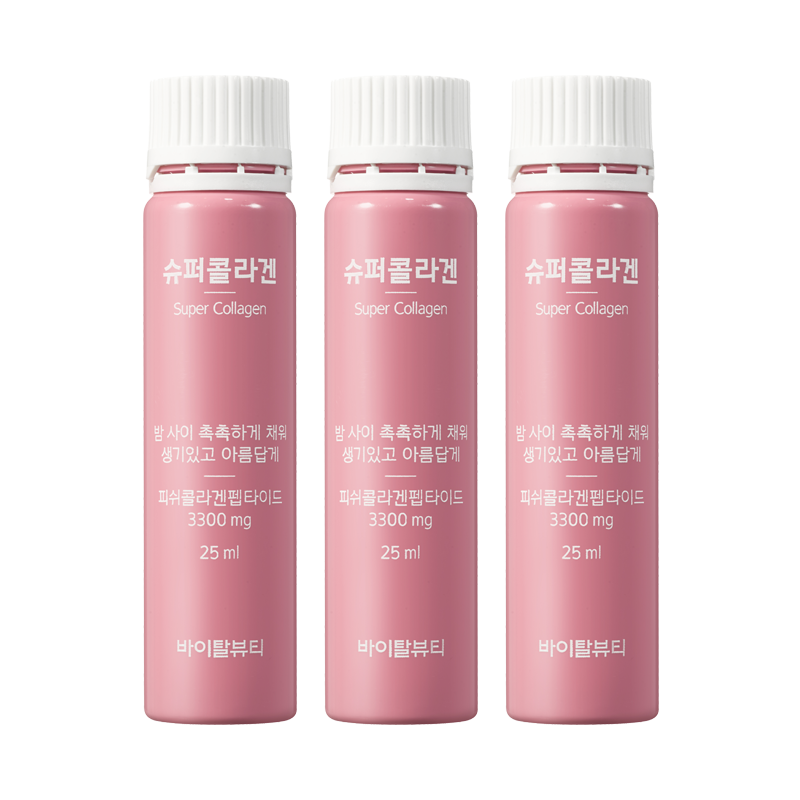 TPCN Nước Uống Collagen Vital Beautie Program Super Collagen 3300mg (30 Chai)