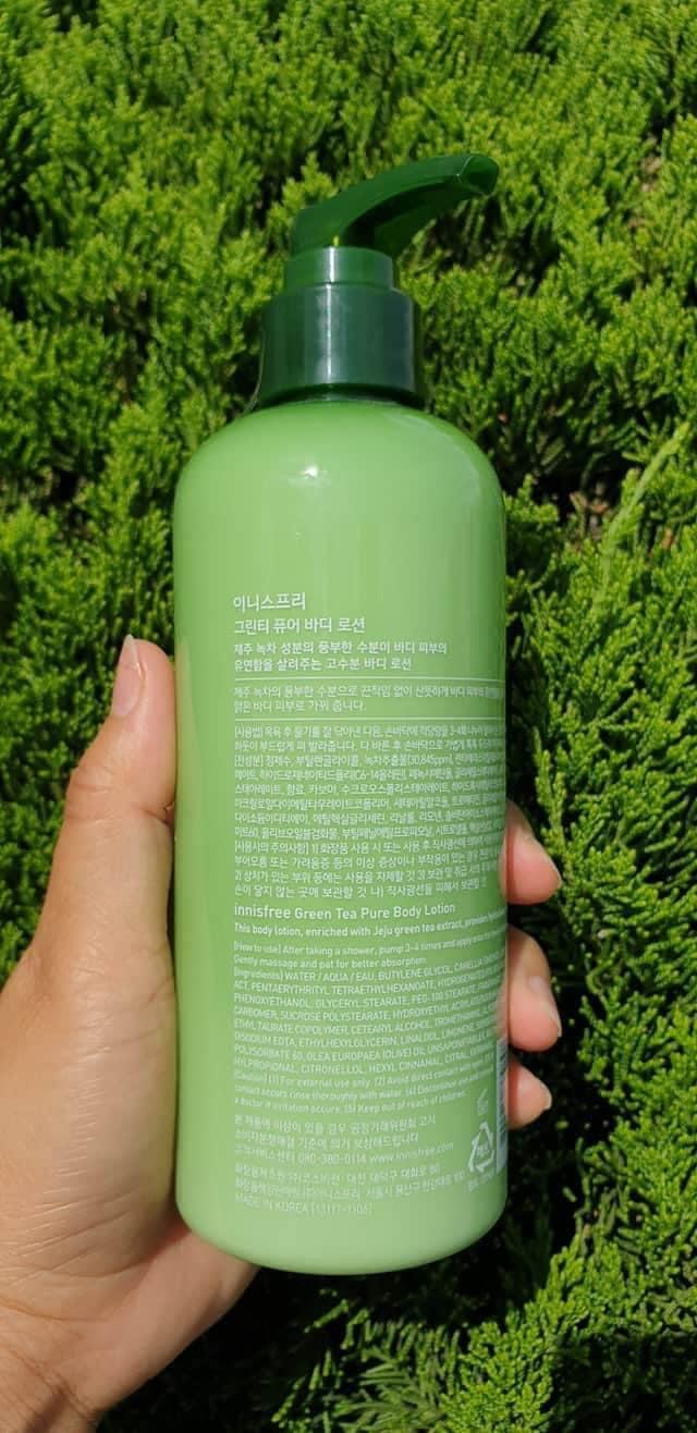 Dưỡng Thể Innisfree Green Tea Pure Body Lotion 300ml