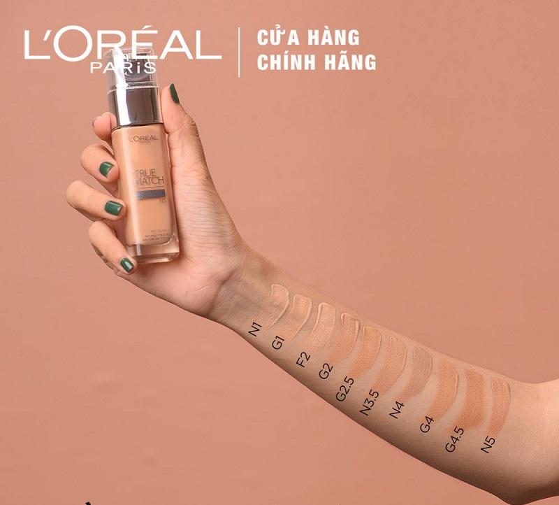 Kem Nền L'Oreal True Match Liquid F2 Rose Porcelain