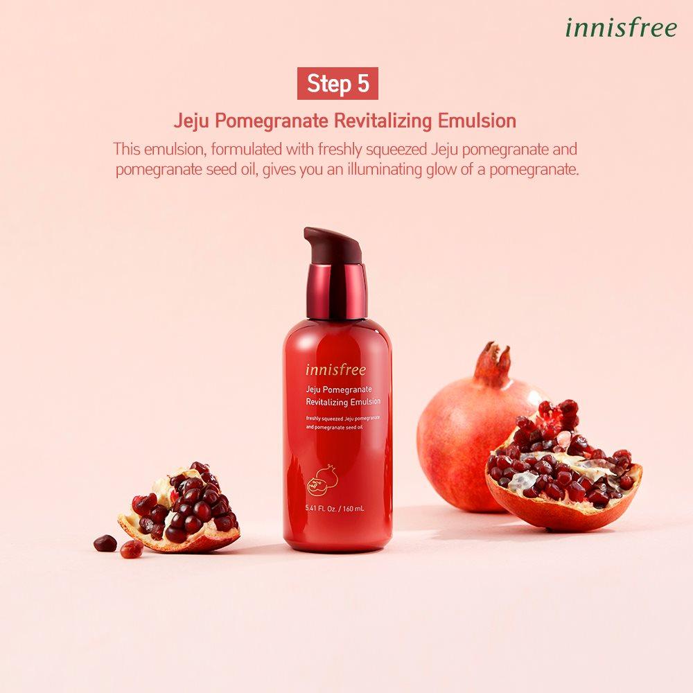 Sữa Dưỡng Innisfree Jeju Pomegranate Revitalizing Emulsion 160ml