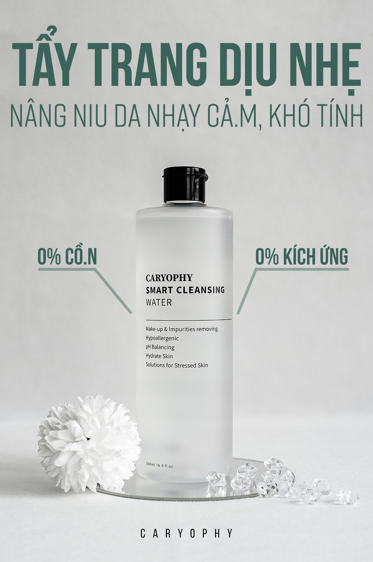 Nước Tẩy Trang Caryophy Smart Cleansing Water Mini 60ml
