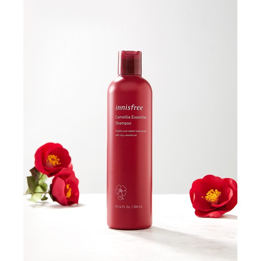 Dầu Gội Innisfree Camellia Essential Shampoo 300ml