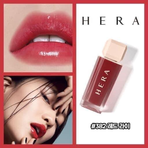 Son Kem Hera Sensual Spicy Nude Gloss #382 Red Lie