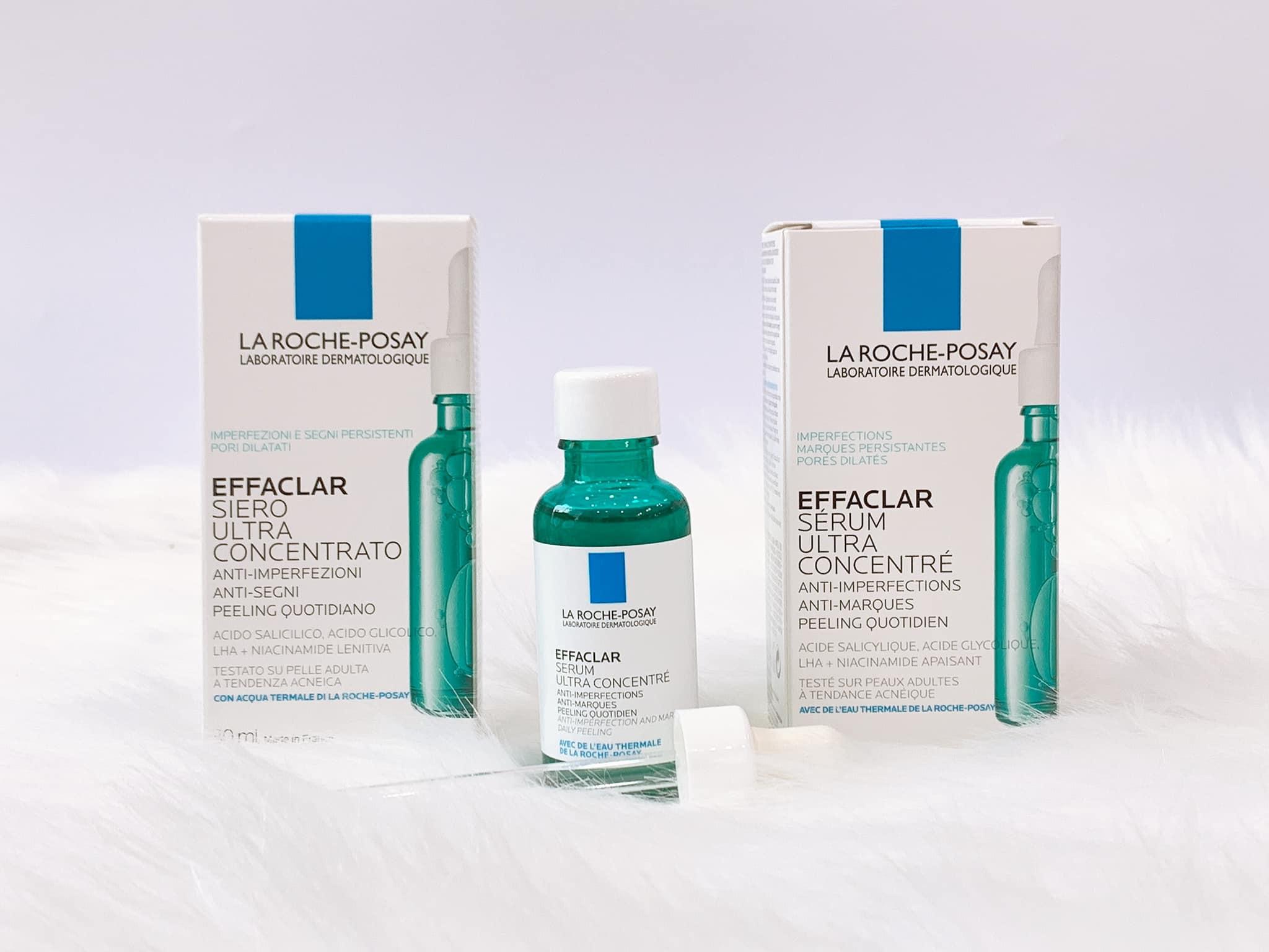 Tinh Chất Giảm Mụn Effaclar Ultra Concentrated Serum La RochePosay 30ml