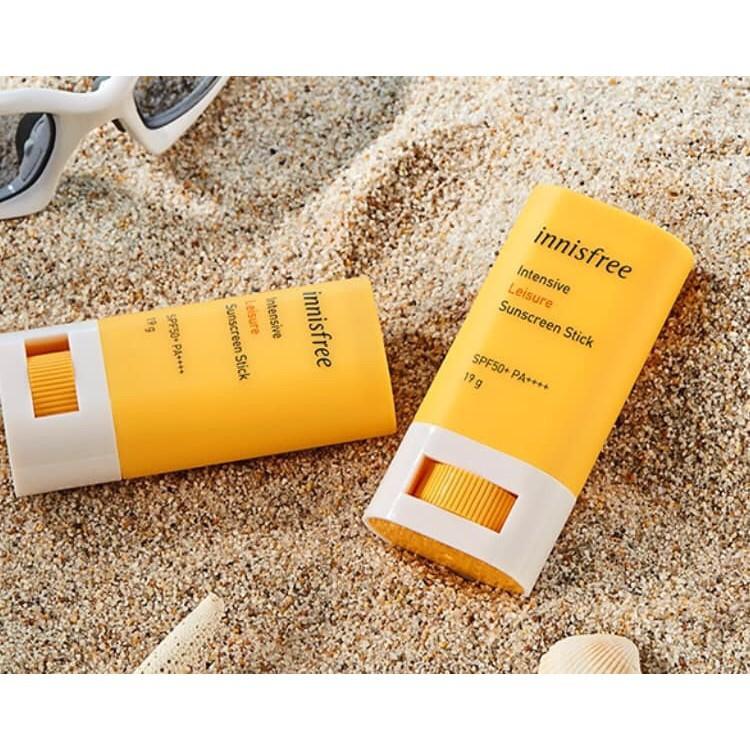 Kem Chống Nắng Dạng Thỏi Innisfree Intensive Leisure Sun Stick SPF50+ PA++++ 18Gr