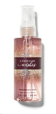 Set Mini Gift Travel Size Bath and Body Works A Thousand Wishes Let It Snow