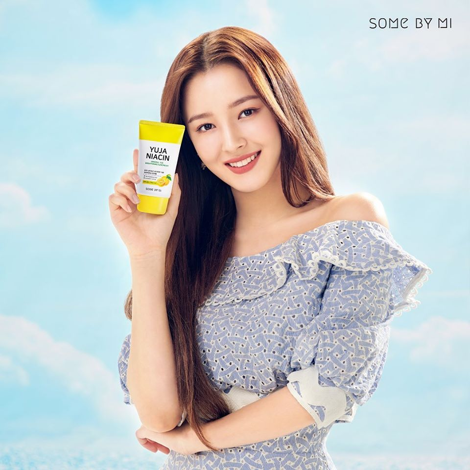 Kem Chống Nắng Some By Mi Yuja Niacin Mineral 100 Brightening Suncream