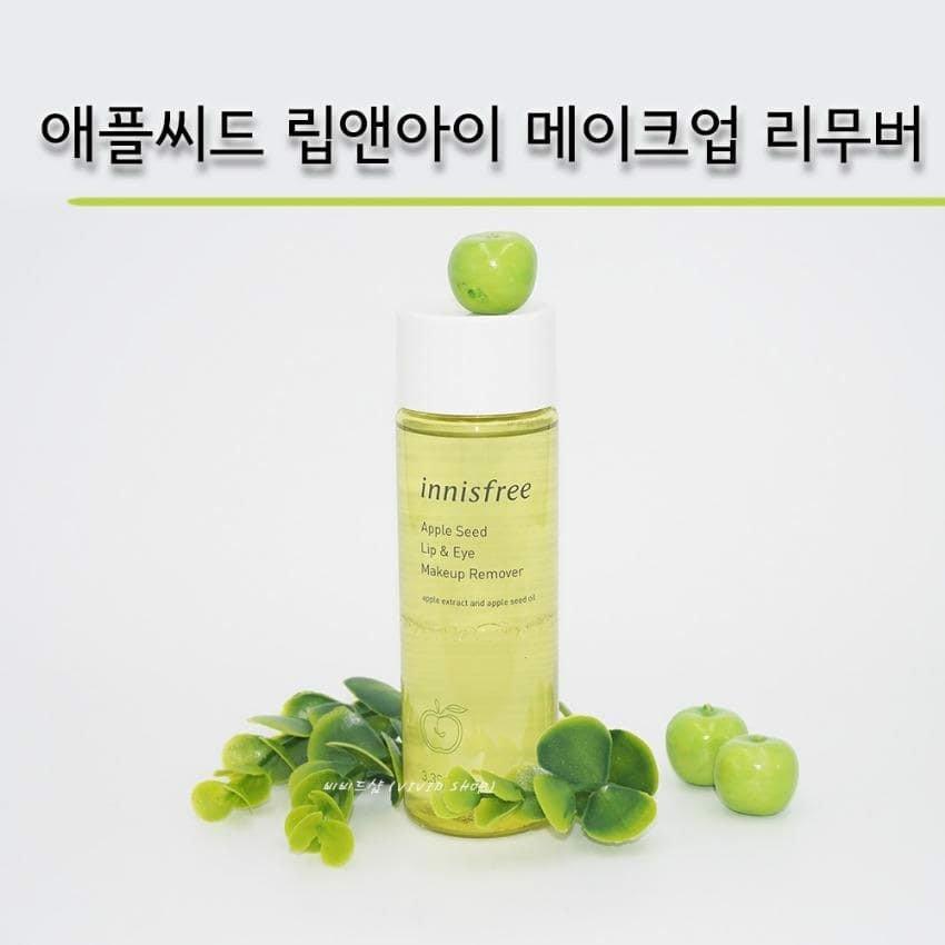 Tẩy Trang Innisfree Apple Seed Lip & Eye Remover 100ml