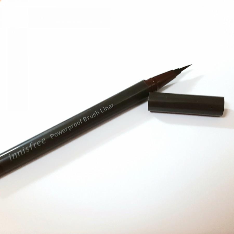 Kẻ Mắt Innisfree Powerproof Brush Liner #01 Black
