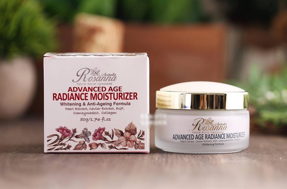 Kem Dưỡng Rosanna Advanced Age Radiance Moisturizer 50G