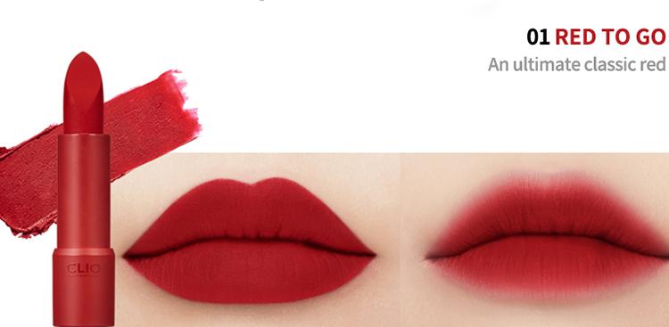 Son Rouge Heel Velvet Clio #01 Red To Go