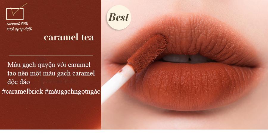 Son Kem Romand Milk Tea Velvet Tint 04- Caramel Tea