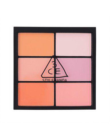 Má Hồng 3CE Pro Multi Blush Color Palette (6 Ô)