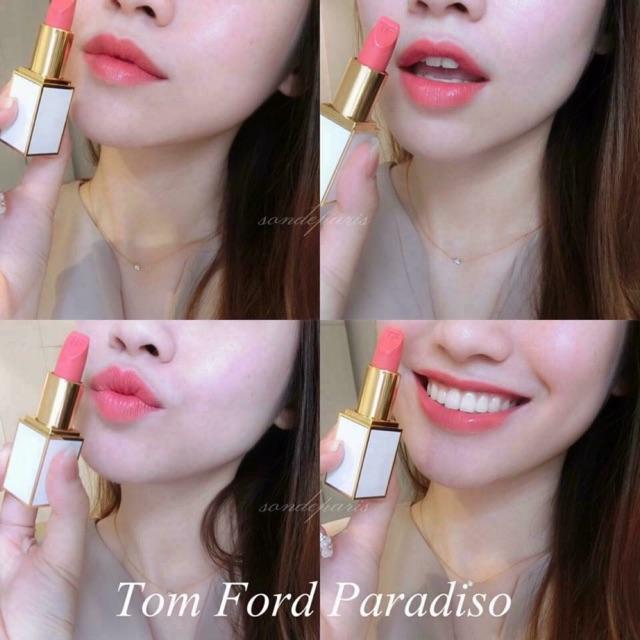 Son Tom Ford Màu 07 Paradiso ( Phiên Bản Vỏ Trắng )