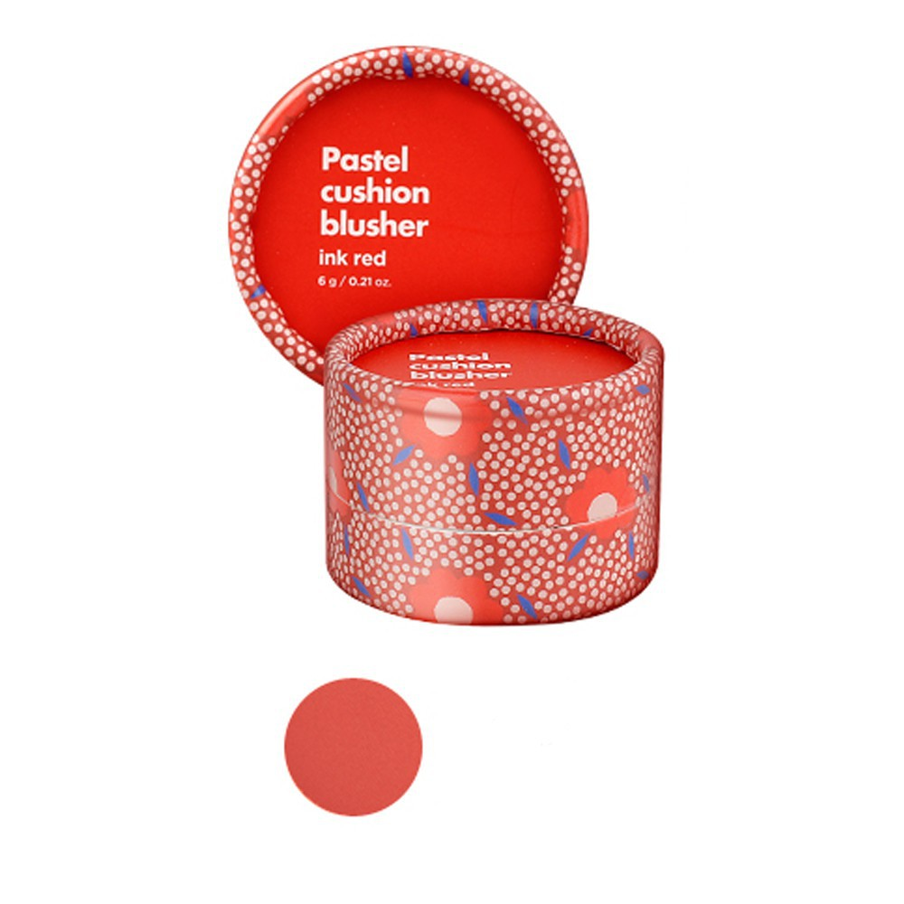 Má Hồng TFS Pastel Cushion Blusher 6g #04 Ink Red