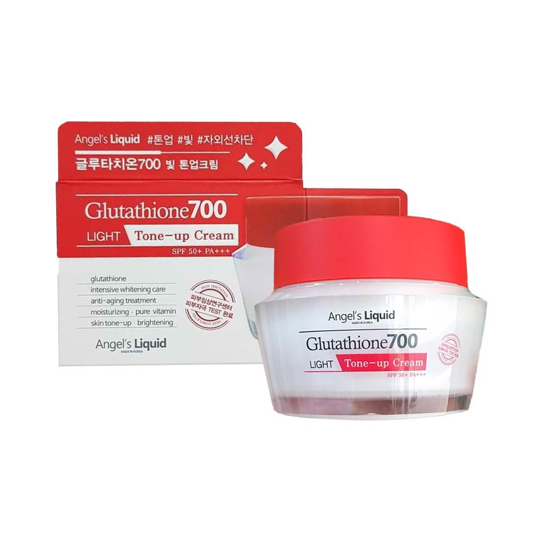 Kem Dưỡng Angle's Liquid Glutathione700 Light Tone-Up Cream 50g