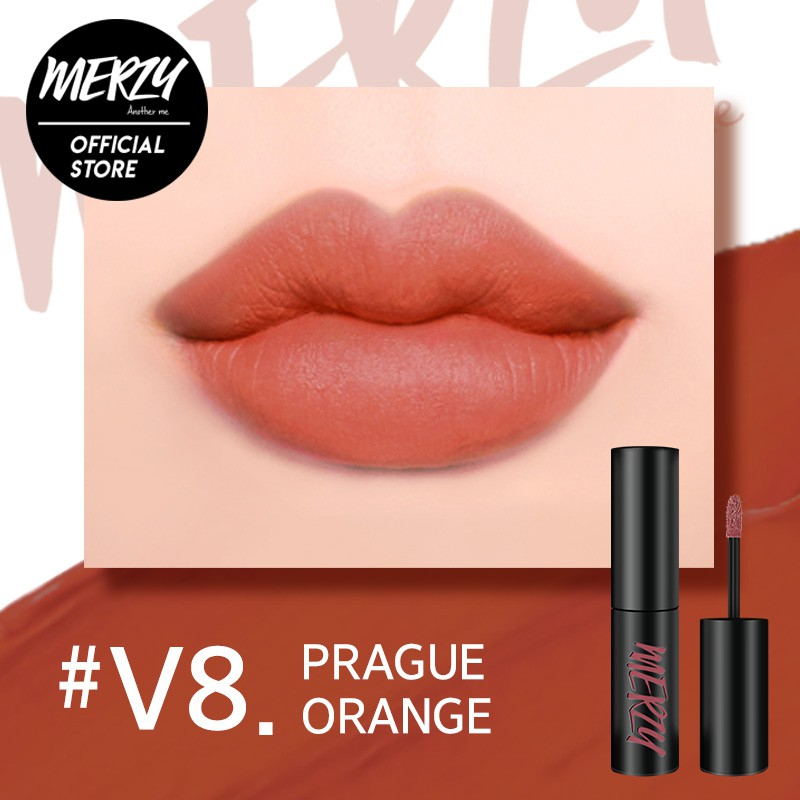 Son Kem Merzy Velvet Tint #V8 Prague Orange