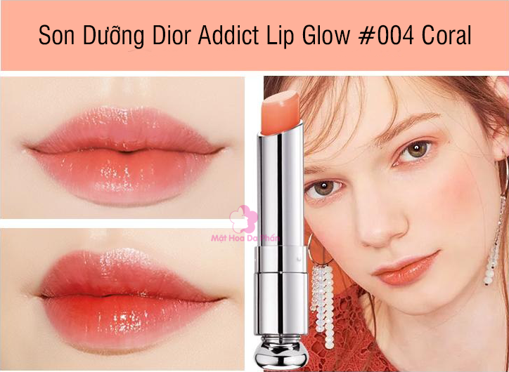 Son Dưỡng Dior Addict Lip Glow #004 Coral