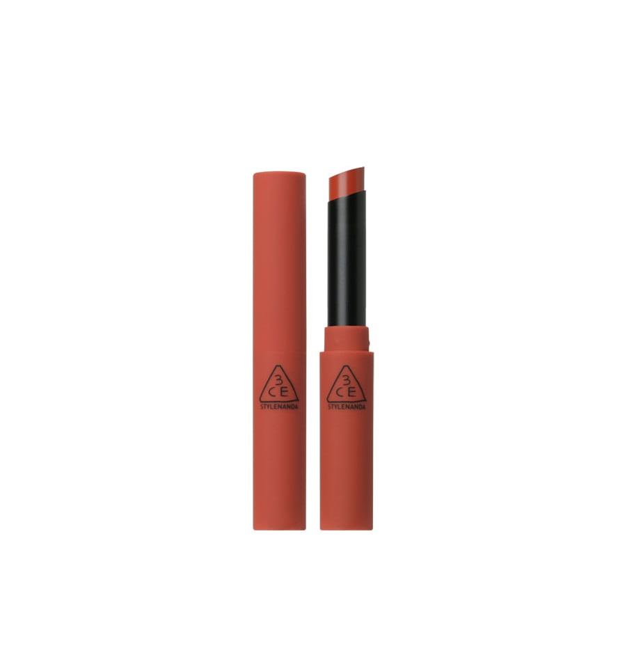Son Thỏi Lì 3CE Stylenanda Slim Velvet Lip Color #Fluffy Red