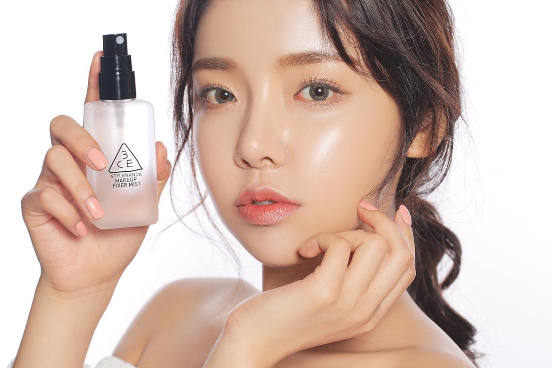 Xịt Khóa Nền 3CE Makeup Fixer Mist 80ml