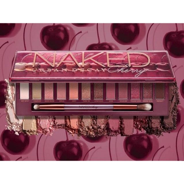 Bảng Màu Mắt Urban Decay Naked Cherry (12 Ô)