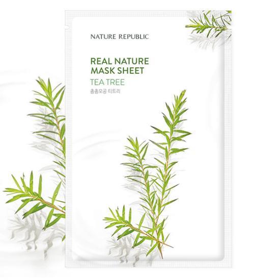 Mặt Nạ Nature Republic Tea Tree Mask Sheet 23ml