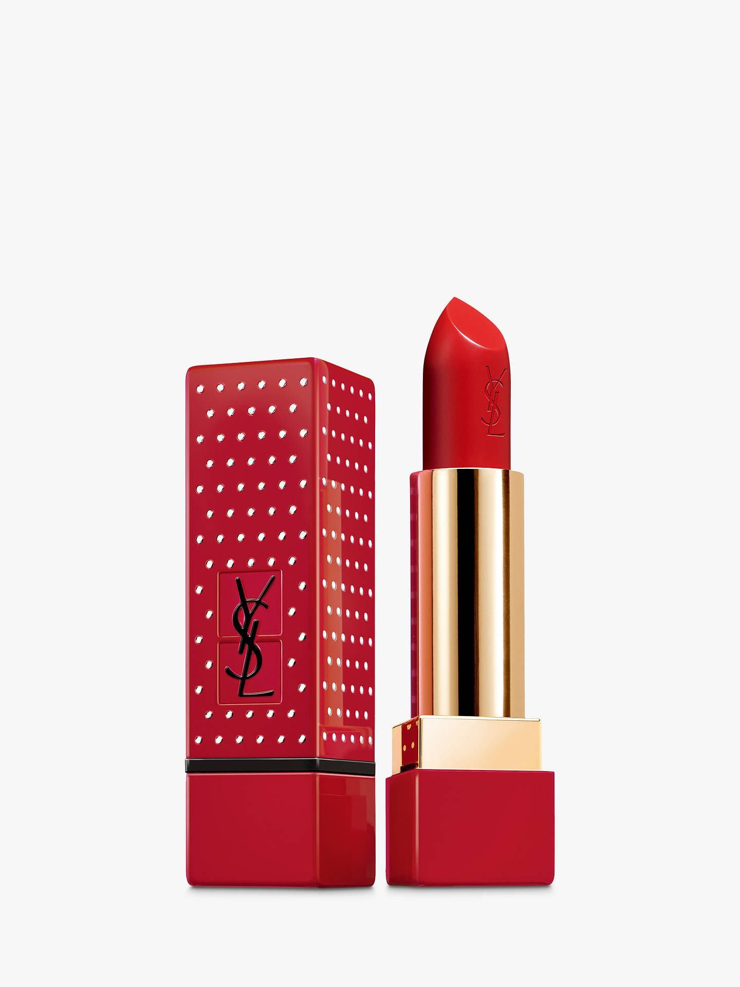 Son YSL Rouge Pur Collector Couture Studs #01 Le Rouge
