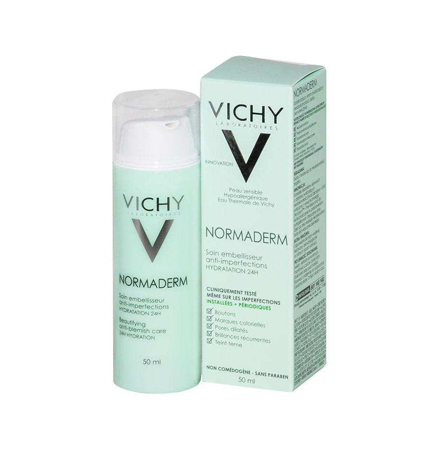 Kem Dưỡng Anti-Blemish Care 24H Hydration Vichy 50Ml