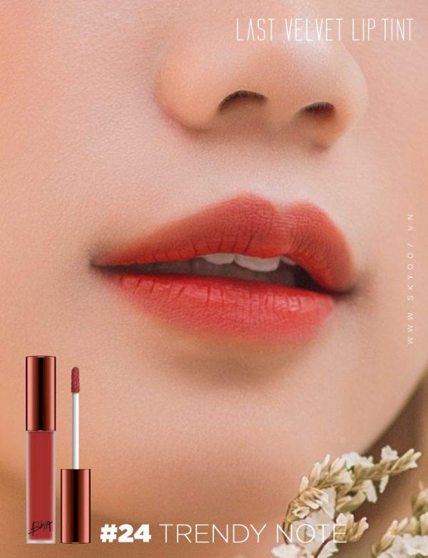 Son Bbia Last Velvet Lip Tint #24 Trendy Note