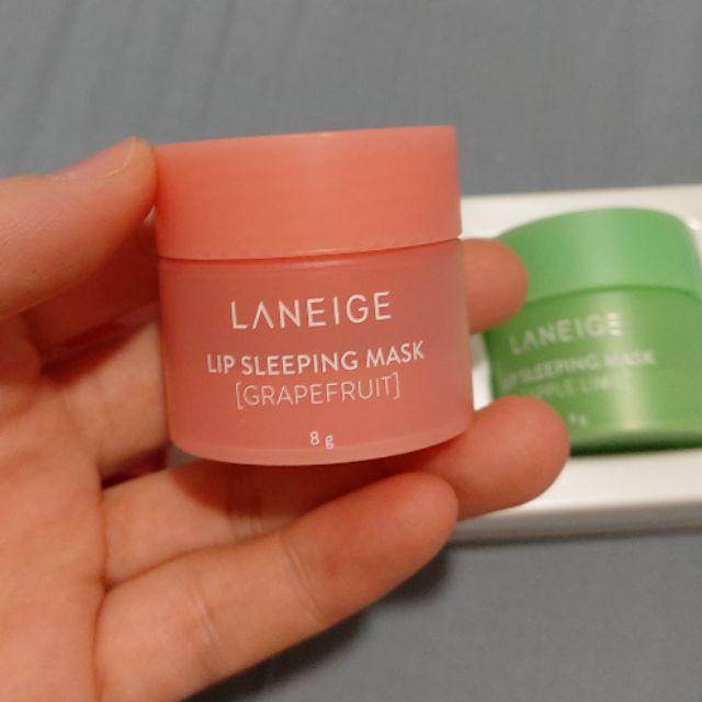 Mặt Nạ Ngủ Môi Laneige Lip Sleeping Mask 8g #Grapefruit (Hũ)