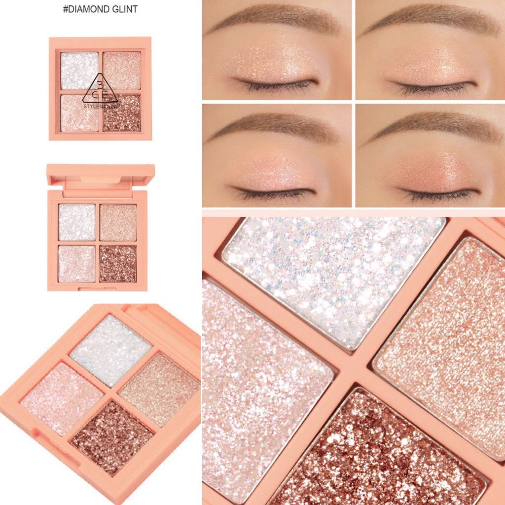 Bảng Màu Mắt 3CE Mini Multi Eye Color Palette #Diamond Glint