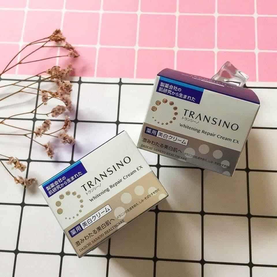 Kem Dưỡng Đêm Đặc Trị Nám Transino Whitening Repair Cream Ex 35g