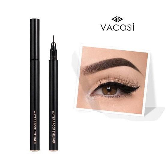 Kẻ Mắt Vacosi Waterproof Eyeliner - VM19