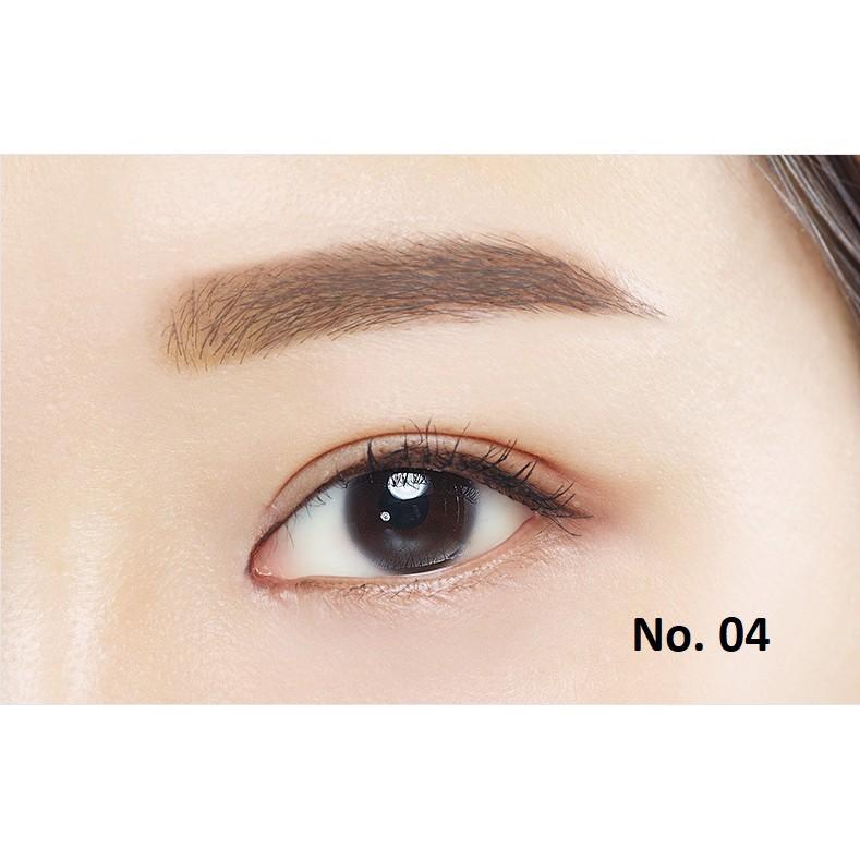 Chì Mày Innisfree Auto Eyebrow Pencil (Vỏ Đen) #04