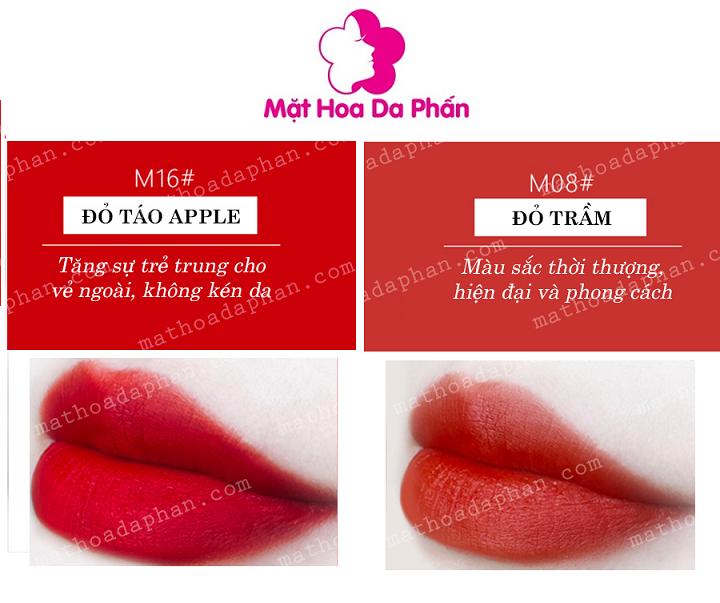 Son Chioture Kiss Matte Lipstick #M16