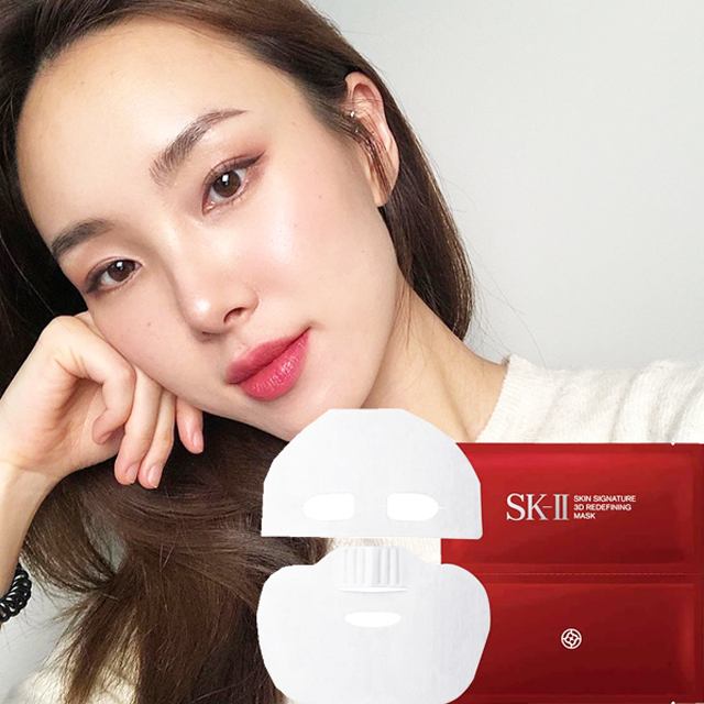 Mặt Nạ SK II Skin Signature 3D Redefining 2 miếng