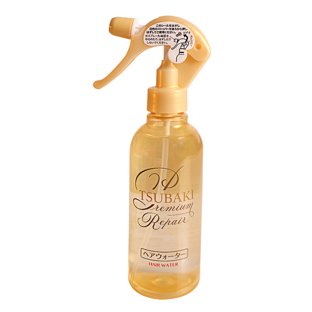 Xịt Dưỡng Tóc Phục Hồi Hư Tổn Tsubaki Premium Repair Hair Water 220ml